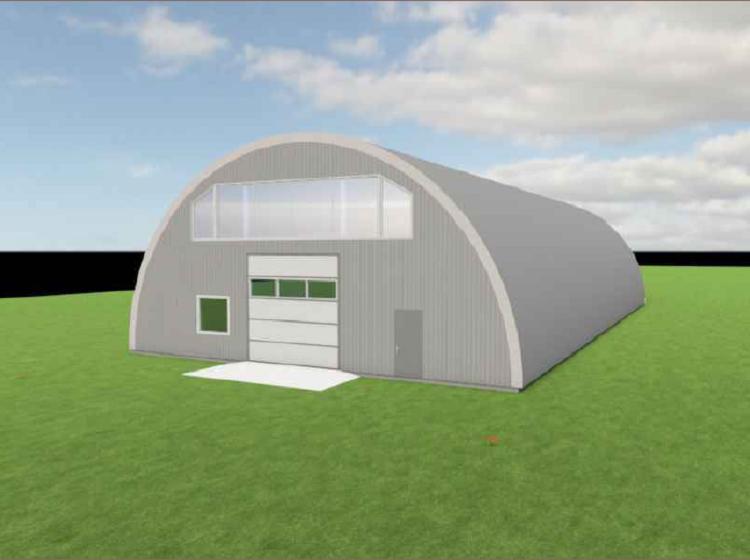 ūkinės paskirties pastato projektas