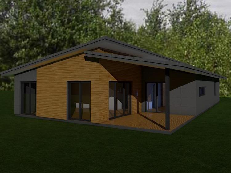 vieno auksto namu projektai